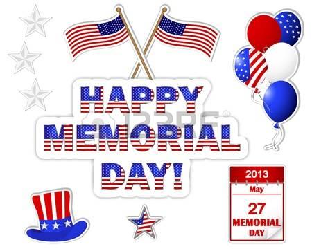 Memorial Day Weekend Clip Art