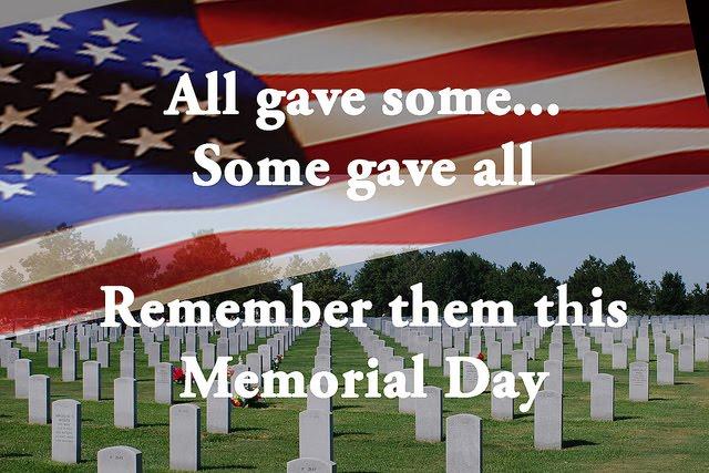 Remember Memorial Day Prayer