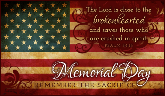 christian memorial day images