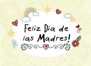 feliz dia de las madres tarjetas
