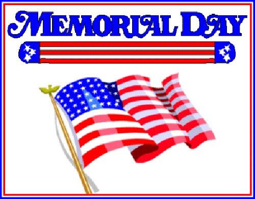 memorial day border clipart