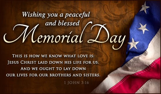 memorial day card messages