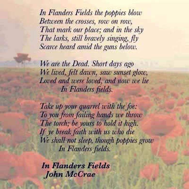 memorial day poems prayers