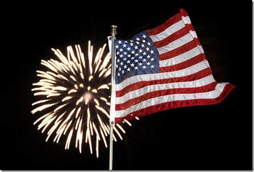 4th of July America Flag Images