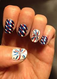 4th of July Nail Art Ideas Designs