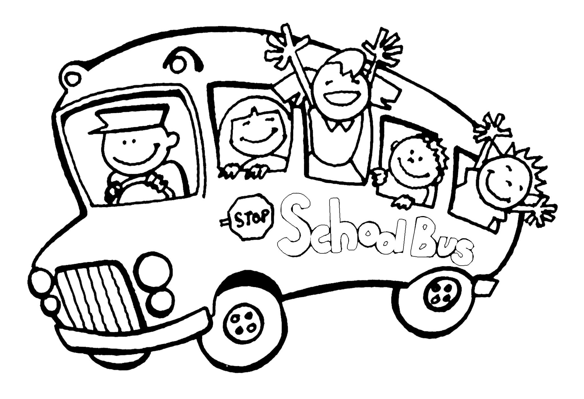 Coloring Pages For Kindergarten