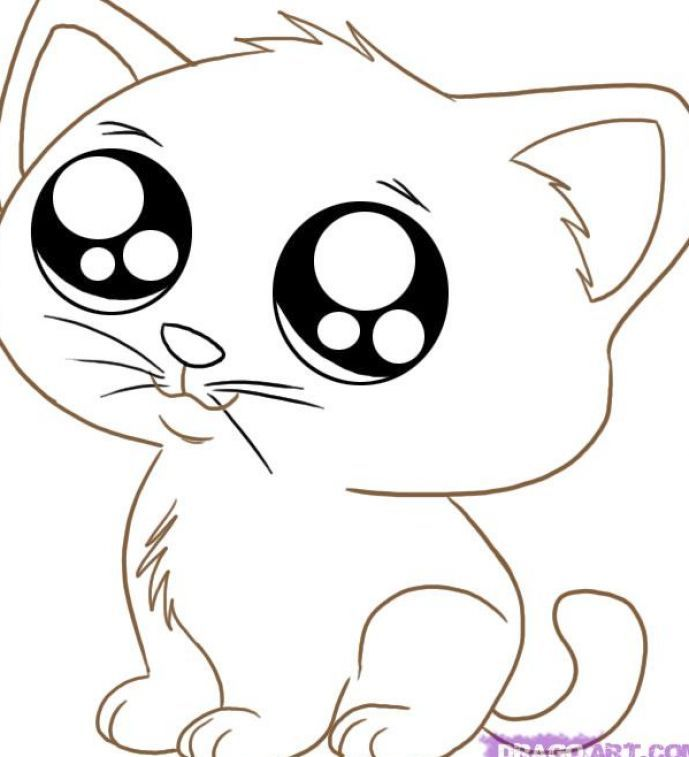 Cute Coloring Pages 1