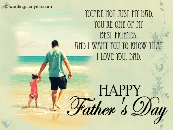 Happy Fathers Day Greetings Cards Messages 2017