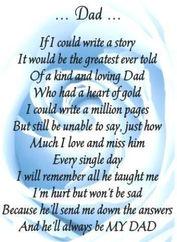 Happy Father's Day Poems from Daughter, Son {2017}