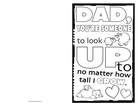 Printable Fathers Day Cards Handmade 2017