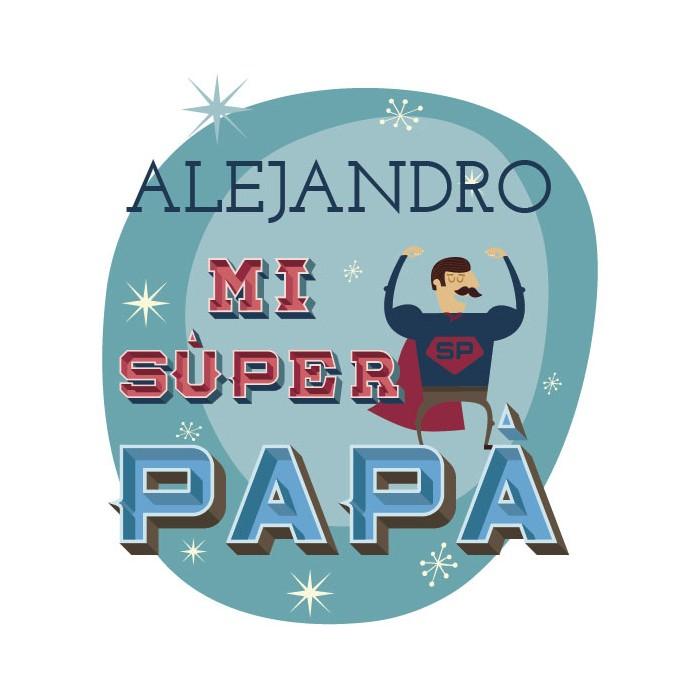 Taza con mensaje Súper Papá