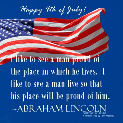 US Independence Day Inspirational Quotes