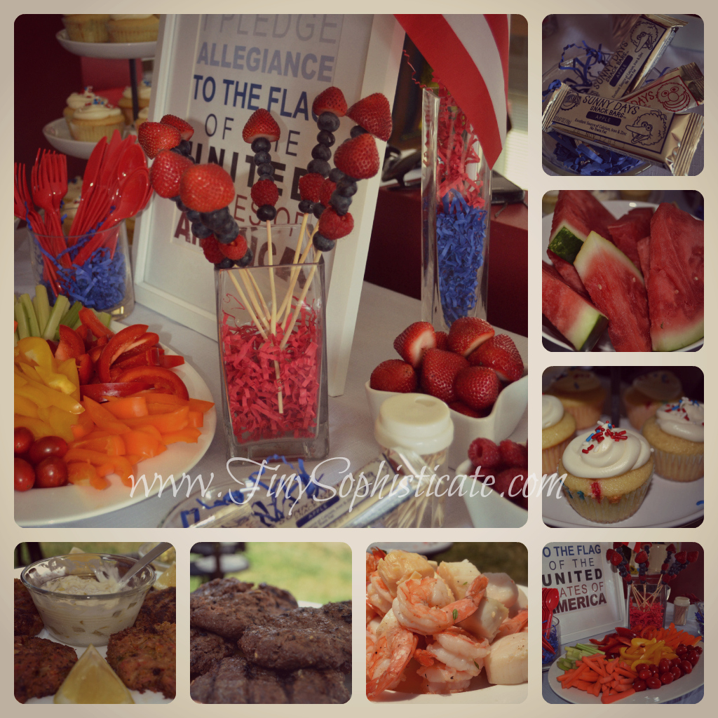4th of July Appetizers Martha Stewart