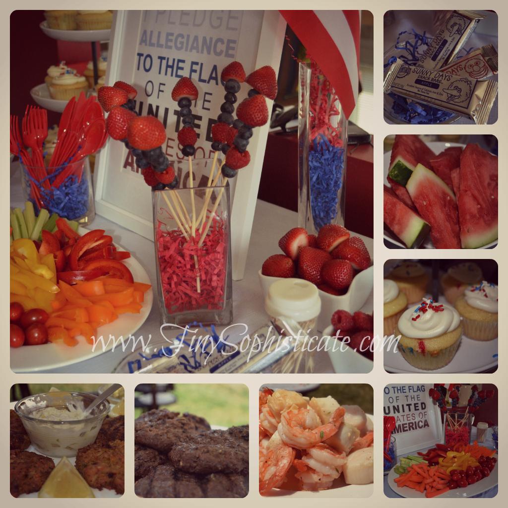 4th of July Appetizers Martha Stewart
