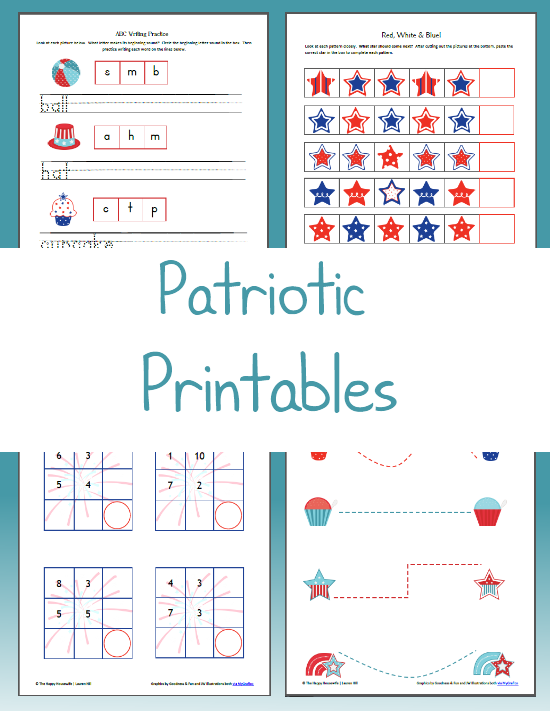 Free Printable 4th of July Coloring pages