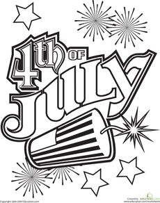 photo about 4th of July Coloring Pages Printable called Absolutely free Printable 4th of July Coloring Web pages For Small children Grownups