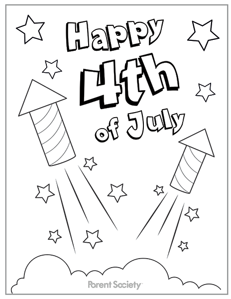 4th Of July Coloring Pages Free