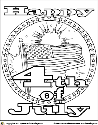Printable 4th Of July Coloring Pages